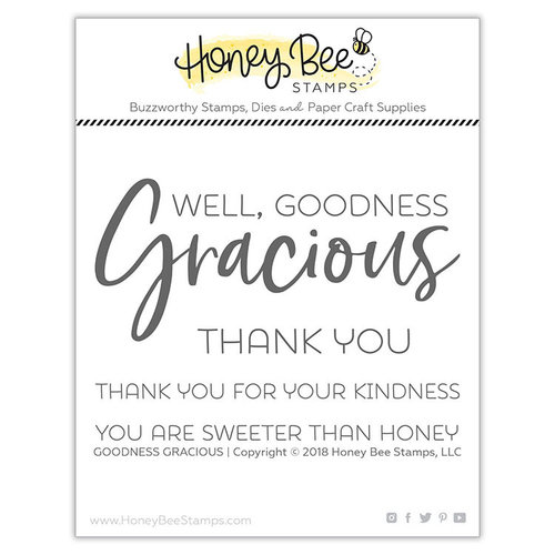 Honey Bee Stamps - Clear Photopolymer Stamps - Goodness Gracious