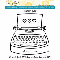 Honey Bee Stamps - Clear Photopolymer Stamps - Just My Type