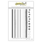 Honey Bee Stamps - Clear Acrylic Stamps - Background Builder