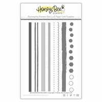 Honey Bee Stamps - Clear Photopolymer Stamps - Background Builder
