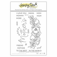 Honey Bee Stamps - Clear Photopolymer Stamps - Mothers Day