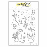 Honey Bee Stamps - Clear Photopolymer Stamps - Oh My Whiskers