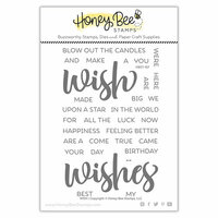 Honey Bee Stamps - Clear Photopolymer Stamps - Wish