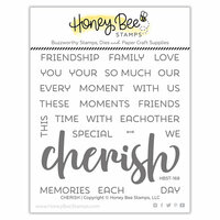 Honey Bee Stamps - Clear Photopolymer Stamps - Cherish