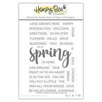 Honey Bee Stamps - Clear Photopolymer Stamps - Spring