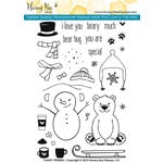 Honey Bee Stamps - Clear Acrylic Stamps - Flakey Friends