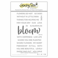 Honey Bee Stamps - Clear Photopolymer Stamps - Bloom