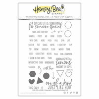 Honey Bee Stamps - Clear Photopolymer Stamps - One-Of-A-Kind