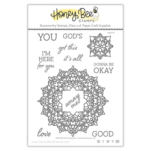 Honey Bee Stamps - Clear Photopolymer Stamps - Here For You