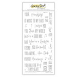 Honey Bee Stamps - Clear Photopolymer Stamps - Rockstar Sentiments