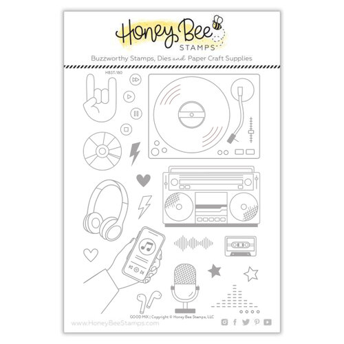 Honey Bee Stamps - Clear Photopolymer Stamps - Good Mix