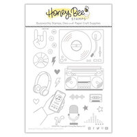 Honey Bee Stamps - Clear Acrylic Stamps - Good Mix