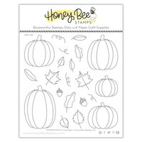 Honey Bee Stamps - Clear Photopolymer Stamps - Pumpkin Patch