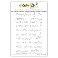 Honey Bee Stamps - Halloween - Clear Photopolymer Stamps - Faboolous Sentiments