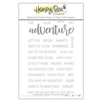 Honey Bee Stamps - Clear Photopolymer Stamps - Adventure