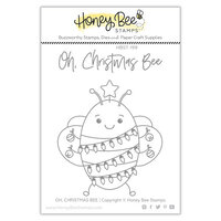 Honey Bee Stamps - Clear Photopolymer Stamps - Oh Christmas Bee
