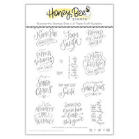 Honey Bee Stamps - Christmas - Clear Photopolymer Stamps - Santa Express