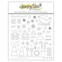 Honey Bee Stamps - Christmas - Clear Photopolymer Stamps - Gingerbread House Add-On