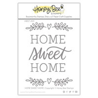 Honey Bee Stamps - Christmas - Clear Photopolymer Stamps - Home, Sweet Home