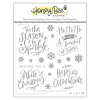 Honey Bee Stamps - Christmas - Clear Photopolymer Stamps - Season to Sparkle