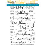 Honey Bee Stamps - Clear Acrylic Stamps - Happy Everything