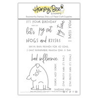Honey Bee Stamps - Bee Mine Collection - Clear Photopolymer Stamps - Bad Influence