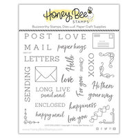 Honey Bee Stamps - Bee Mine Collection - Clear Photopolymer Stamps - Love Enclosed