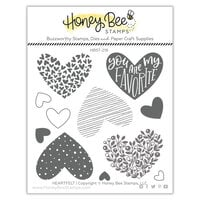 Honey Bee Stamps - Bee Mine Collection - Clear Photopolymer Stamps - Heartfelt