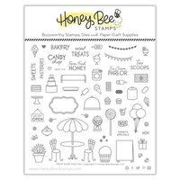 Honey Bee Stamps - Bee Mine Collection - Clear Photopolymer Stamps - Treat Shop Add-On