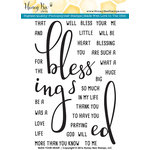 Honey Bee Stamps - Clear Acrylic Stamps - Bless Your Heart