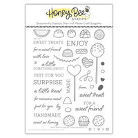 Honey Bee Stamps - Bee Mine Collection - Clear Photopolymer Stamps - Sweet Treats
