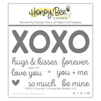Honey Bee Stamps - Bee Mine Collection - Clear Photopolymer Stamps - XOXO