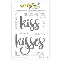 Honey Bee Stamps - Bee Mine Collection - Clear Photopolymer Stamps - Kisses