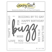 Honey Bee Stamps - Clear Photopolymer Stamps - Buzz