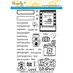 Honey Bee Stamps - Clear Acrylic Stamps - Camera Love