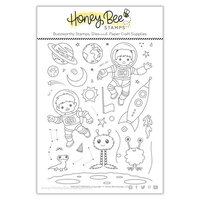 Honey Bee Stamps - Clear Photopolymer Stamps - Far Out Friends