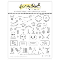 Honey Bee Stamps - Clear Photopolymer Stamps - Build A Bot