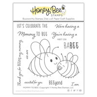 Honey Bee Stamps - Clear Photopolymer Stamps - Mommy To Bee