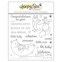 Honey Bee Stamps - Clear Photopolymer Stamps - Woodland Babies