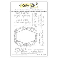 Honey Bee Stamps - Clear Photopolymer Stamps - In Full Bloom