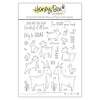 Honey Bee Stamps - Clear Photopolymer Stamps - Way To Goat