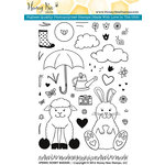 Honey Bee Stamps - Clear Acrylic Stamps - Spring Honey Buddies