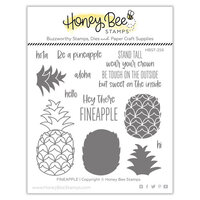 Honey Bee Stamps - Paradise Collection - Clear Photopolymer Stamps - Fineapple