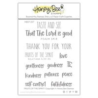 Honey Bee Stamps - Paradise Collection - Clear Photopolymer Stamps - Fruits of the Spirit