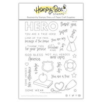 Honey Bee Stamps - Clear Photopolymer Stamps - My Hero