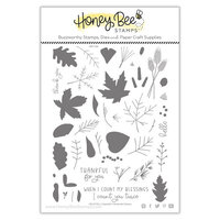 Honey Bee Stamps - Clear Photopolymer Stamps - Hello Fall