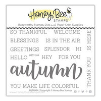 Honey Bee Stamps - Clear Photopolymer Stamps - Autumn Buzzword