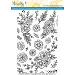 Honey Bee Stamps - Clear Acrylic Stamps - Country Blooms