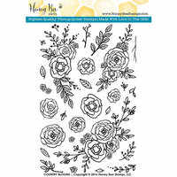 Honey Bee Stamps - Clear Photopolymer Stamps - Country Blooms
