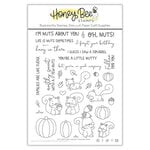 Honey Bee Stamps - Clear Photopolymer Stamps - Nuts About You